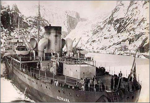 MV Altmark following the rescue